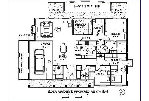 7b 08 002 Renovation Plan American Residential Design Awards On Floor Plan Residential Building